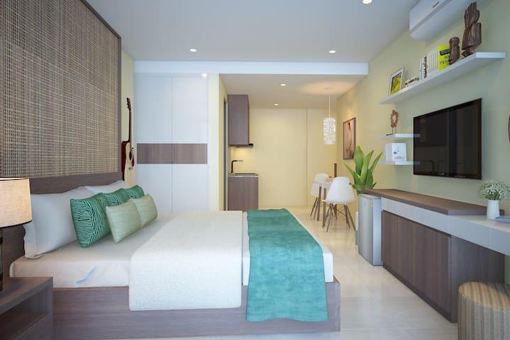 Convenient studio in Ha Noi center ( Nga Tu So)