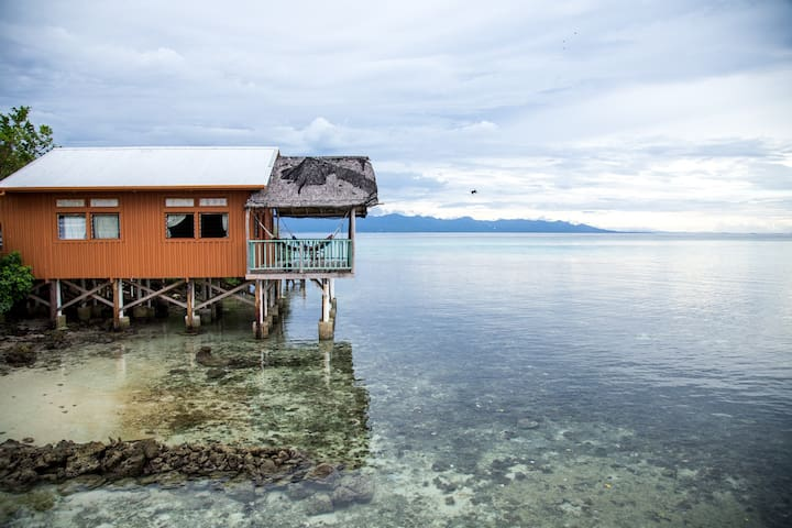 Over Water Double room Bungalow in Private Island