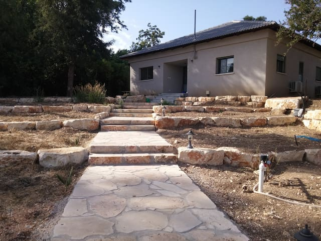 Great house near Agmon Ahula Nature reserve, galil