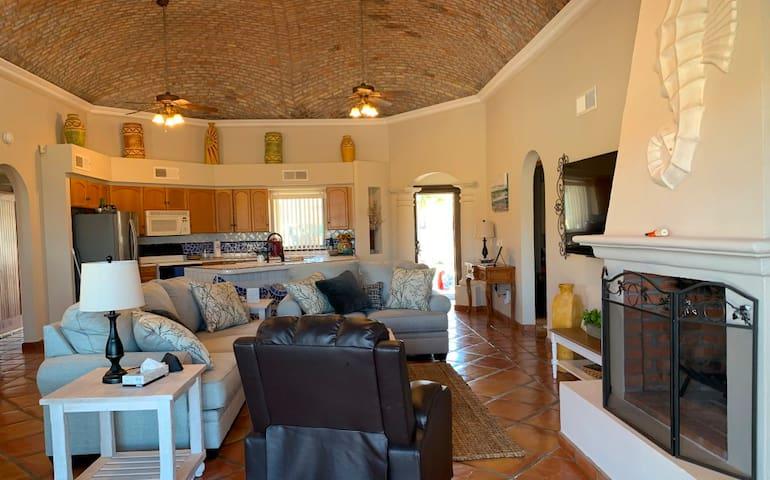 Big open living area