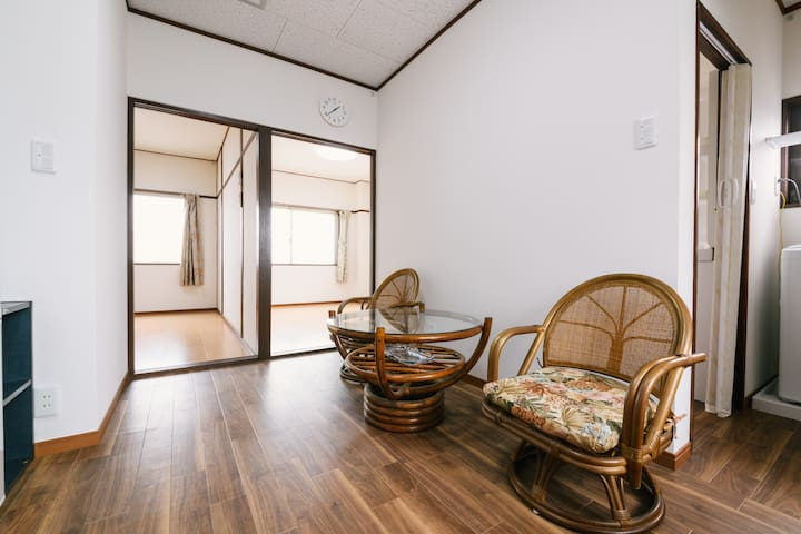 302 Ideal for families staying near Saga station