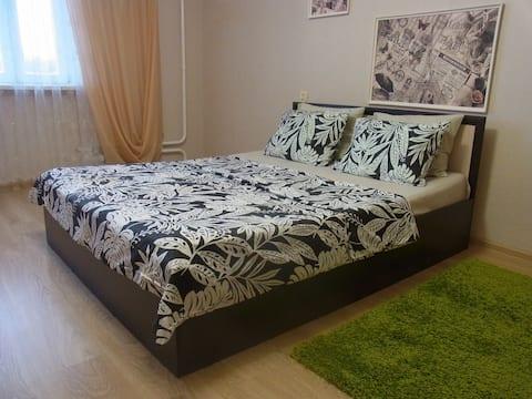 Новая, уютная, хорошенькая квартира.