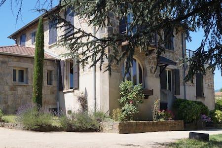 Gîte de caractère en Ardèche verte - Saint-Félicien - House