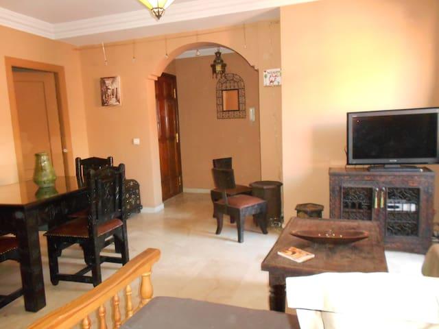 RAVISSANT APPT AVEC  TERRASSE CENTRE GUELIZ - Marrakesh - Apartment