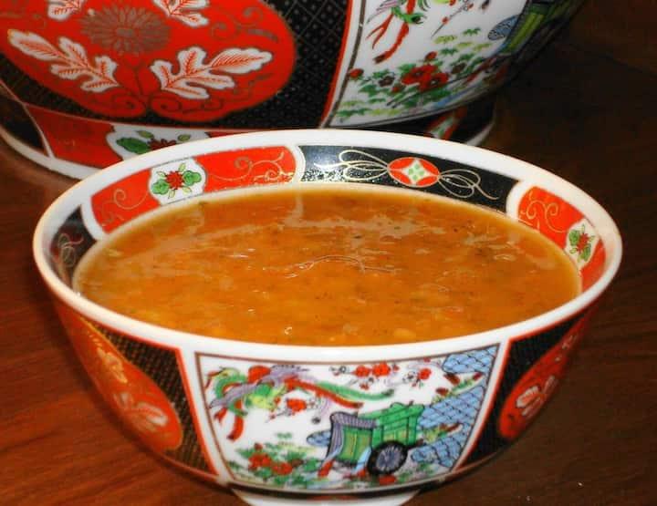 Harira soupe vegetarian