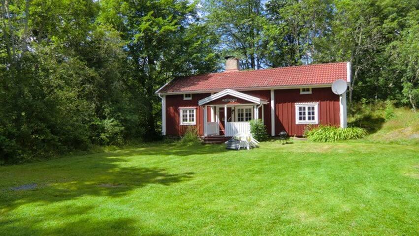 Ferienhaus am See mit 700 Jahre alter Geschichte - Älghult - Haus