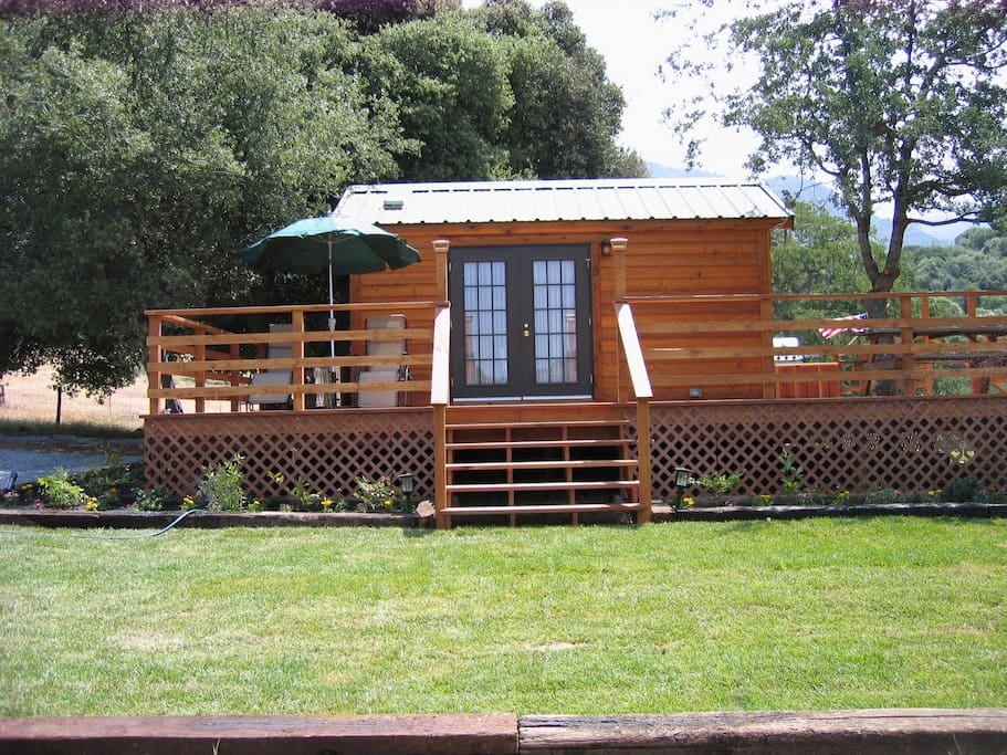 Sequoia cabin rental cabin 3 cottages for rent in three for Cheap cabin deals in sequoia