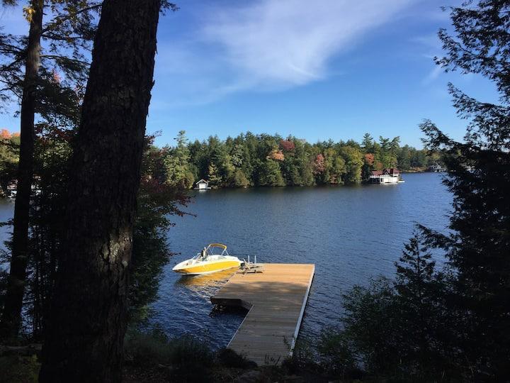 Lake Muskoka Time - Sparkling Bay