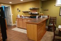 Plenty of kitchen space...
