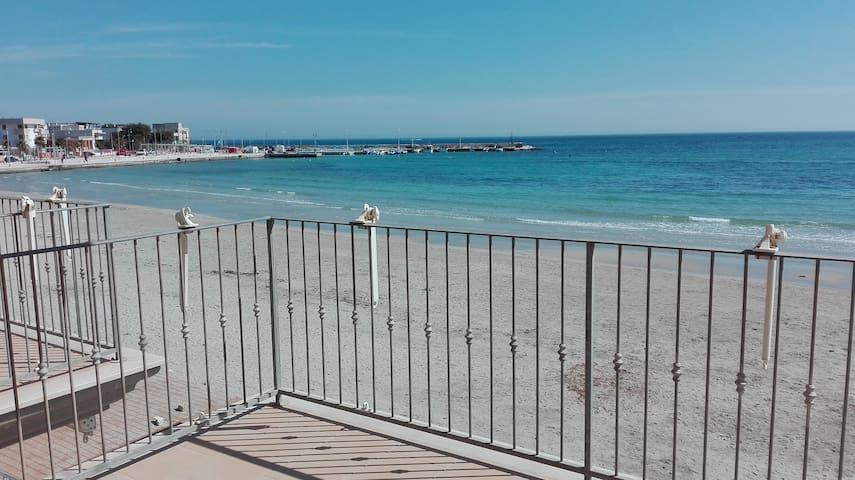 Cosy apartment on the beach - Rosa Marina - Apartamento