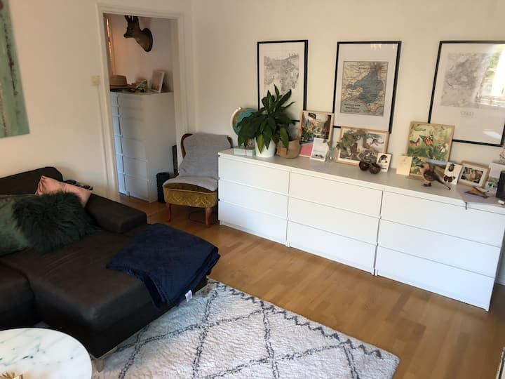 Cozy Gothenburg apartment, 20 min from Central St.