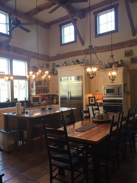 Single room on historic farm.