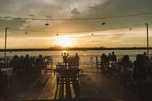 Pôr do Sol - Rio Tocantins