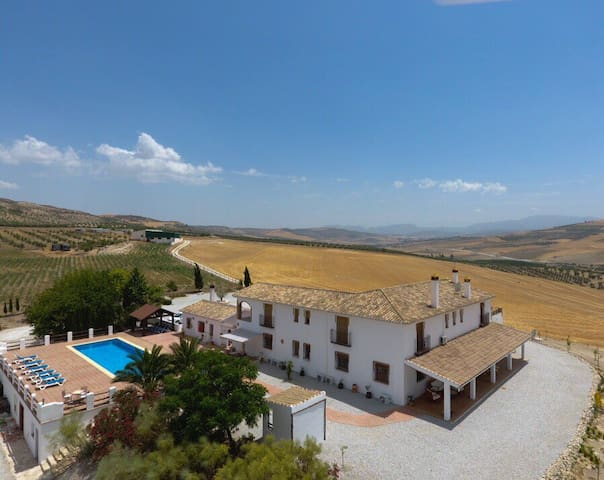 Luxury Rural Villa with  Pool - Santa Cruz del Comercio - Casa de camp