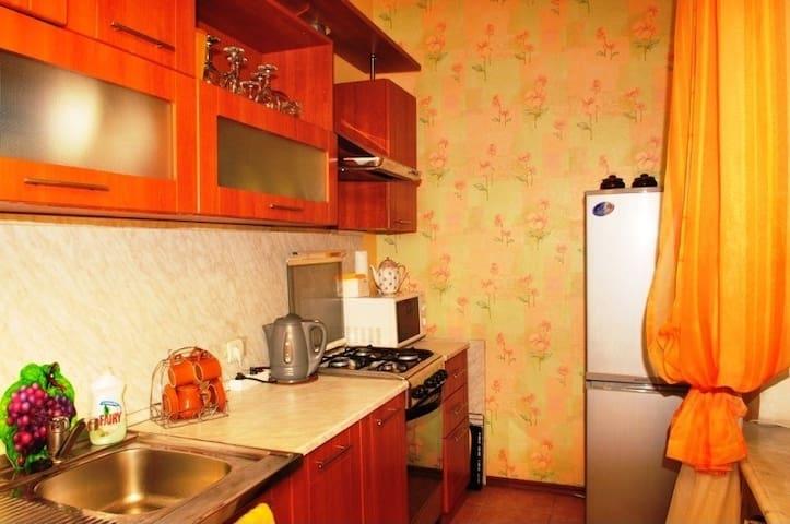 3х комнатная квартира Харьков Пятихатки - Kharkiv - อพาร์ทเมนท์