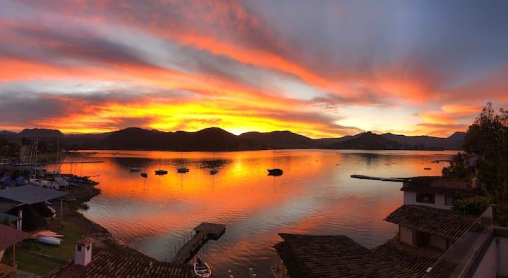 Casa en San Gaspar con vista al lago! Un Tesoro!!