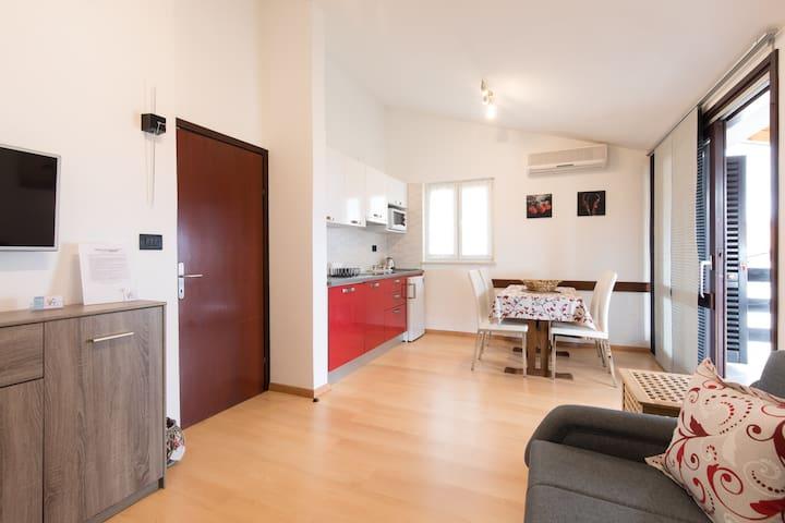 Residence4a-Appartamento Rosso