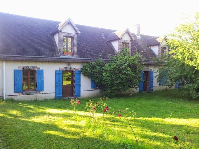 Longère entre Beauce et Perche - Saint-Germain-le-Gaillard - Huis