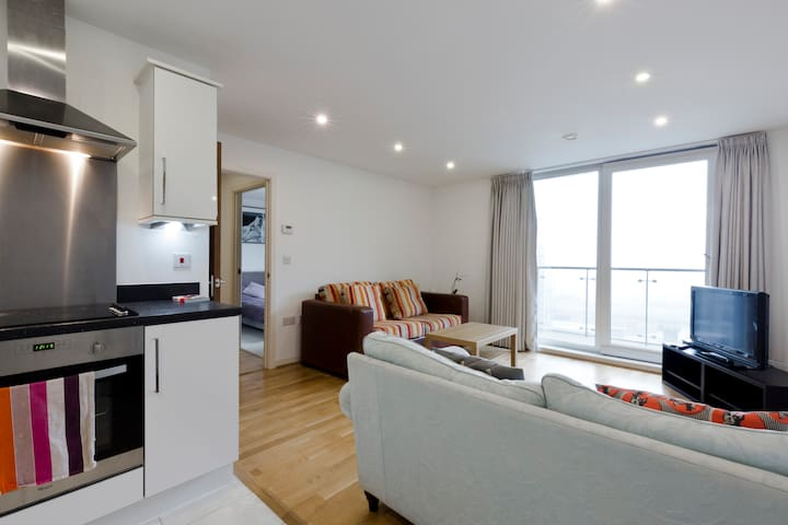 Modern one-bed Apartment in West London