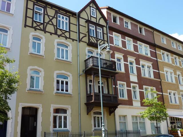 City Quartier Jena im Damenviertel für 5 Personen