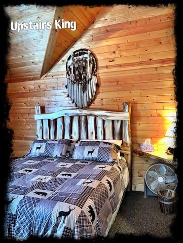 NEW Aspen King Headboard with new   Mattress
