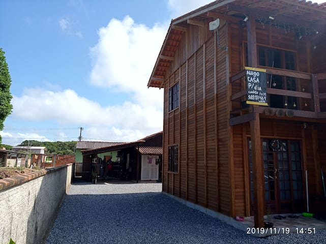 Casa aconchegante praia de Itapoá SC