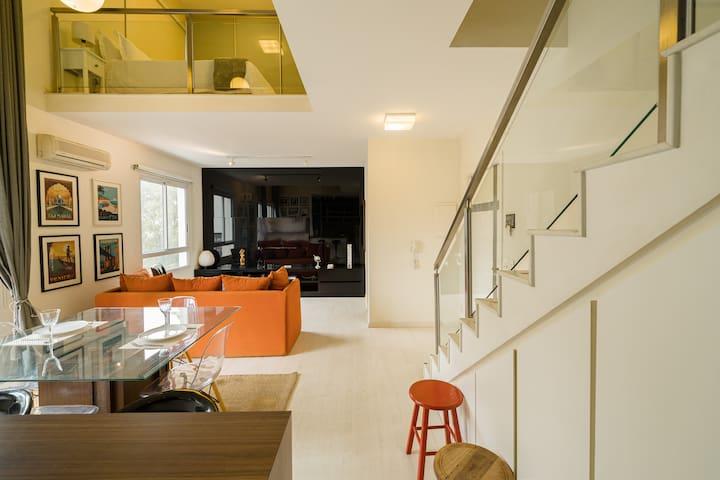 OP61 Duplex exclusivo no Panamby