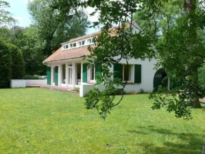 Villa en forêt du Touquet (3 Ch, 130m2, Jardin)