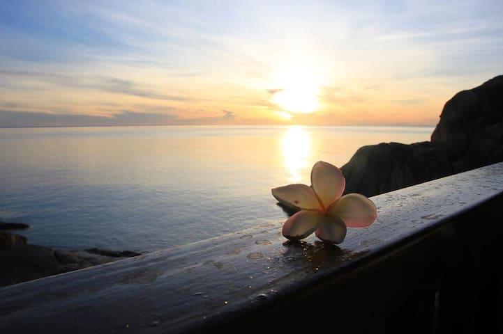 舟山蝴蝶湾·蓝海山居      能看海景+日出的特色房间 - Zhoushan - Minsu (Taiwan)