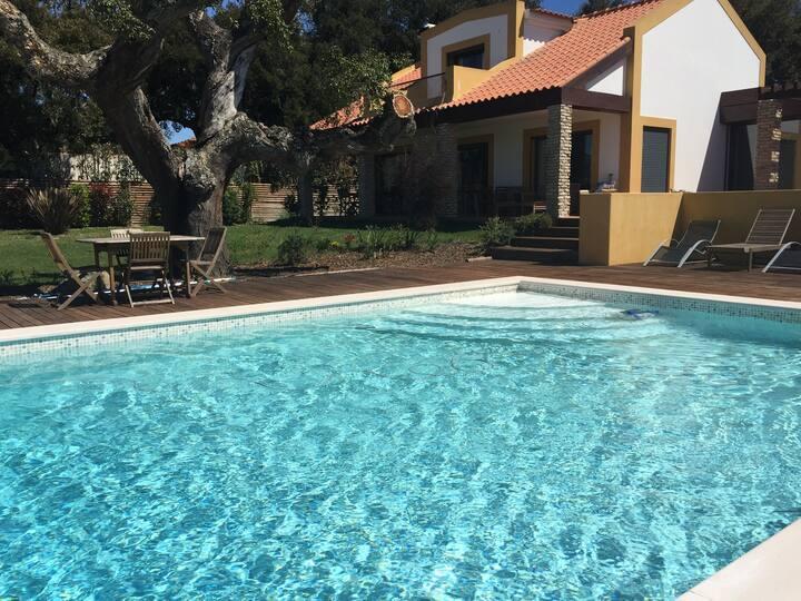 Luxury Villa in Paradise of Santo Estevão
