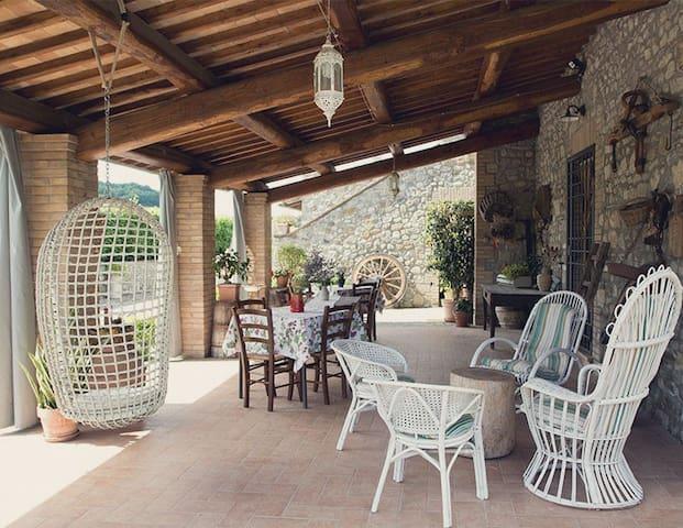 Appartamento romantico nel verde - Orvieto - Departamento