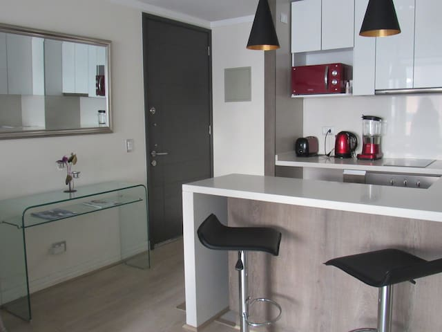 Beautiful one-room apartment , fully equipped. - Las Condes - Appartement