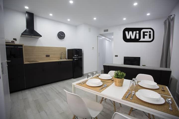 Apartamento San Diego - CENTRO CIUDAD con Wifi