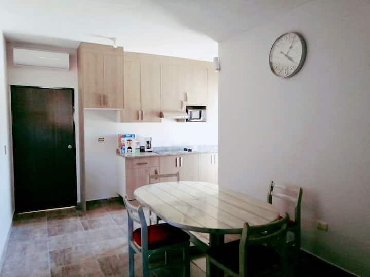 Apartamento moderno con lavandería