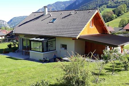 Maison avec sauna au coeur des Aravis