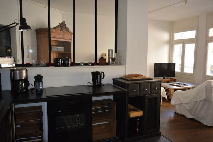 Appartement cosy au coeur du centre ville - Roanne - Apartment