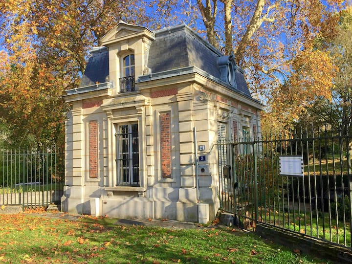 La demeure de Concy. Yerres , proche de Paris.