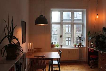 Cozy and green apartment in Copenhagen - Kööpenhamina - Huoneisto