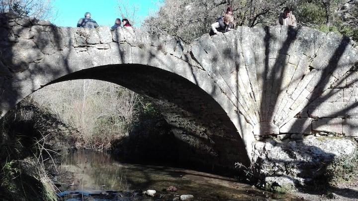Pont romain à coquille