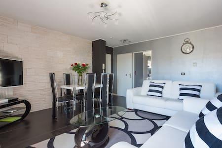 Grand F3 Appart Disneyland (5 minutes) 2-6 per - Marne-la-Vallée, Chessy - 公寓