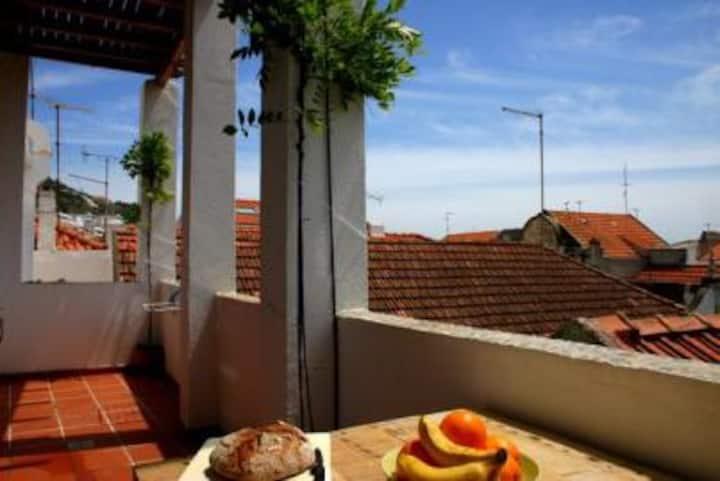 Casa Sesimbra - Studio with Terrace
