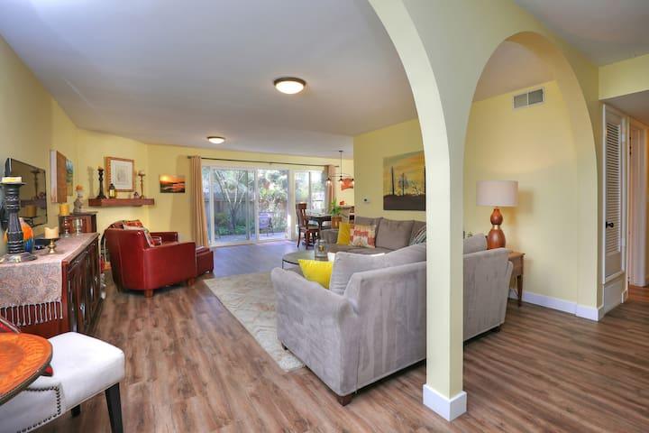 Lovely, spacious condo for long term rent.