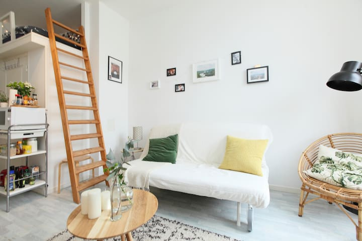 Cozy and luminous apartment near Marais