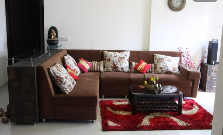 3 BHK Lavish Apartment with Garden & Mountain view