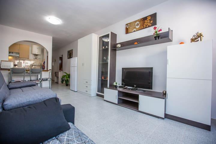 Apartamento La Calera con WIFI gratuito