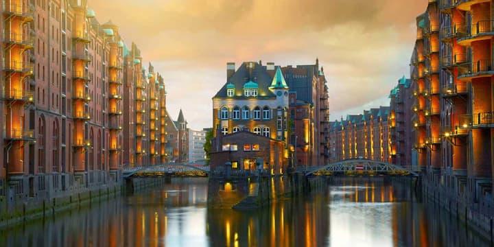 Super zentral gelegenes Zimmer in Hamburg Wandsbek