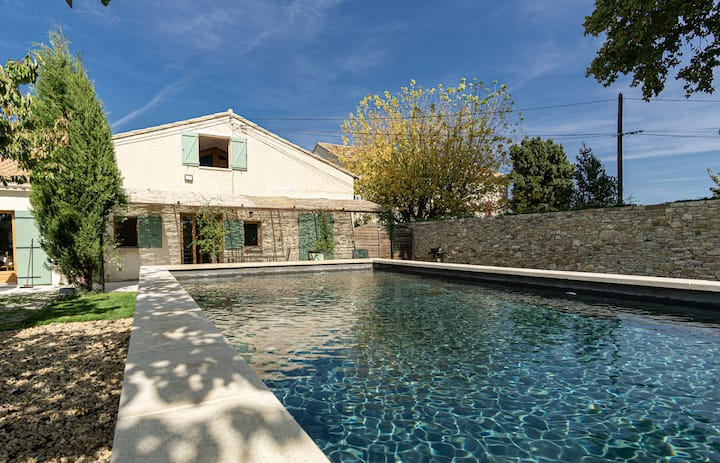 Le Grantou - Beautiful house with private pool located in the countryside