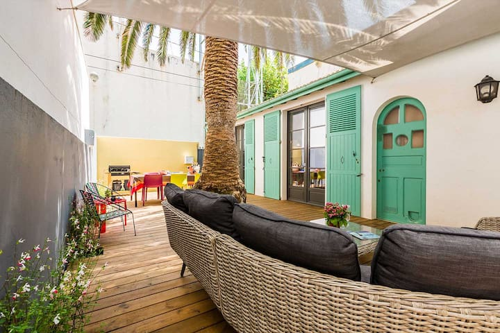Keyweek Lovely Town House with Terrace in Quiet Biarritz