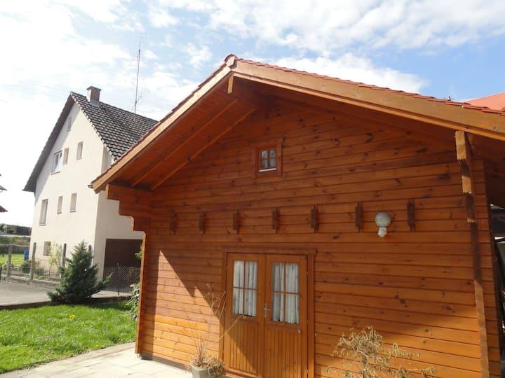Gästehaus Bettina, (Sipplingen), Blockhütte, 30qm, max. 9 Personen