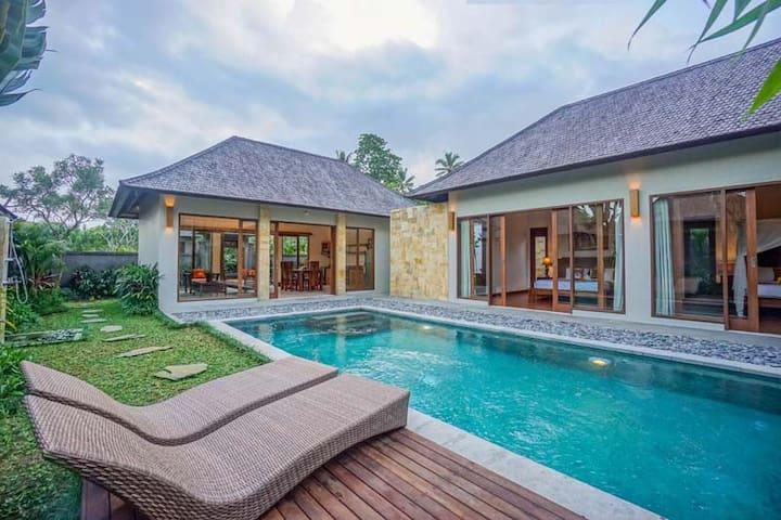 Charming 2BR Boutique Private Villa w/pool in Ubud